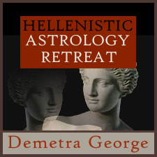 Hellenistic Astrology Retreat 2017