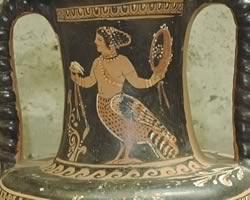 Ancient Siren Vase