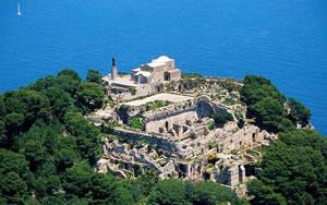 Tiberius Palace on Capri