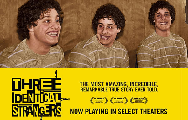 Three Identical Strangers movie